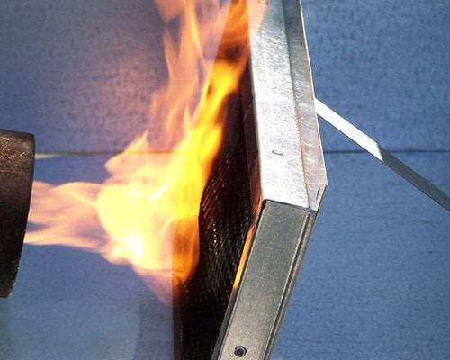 Vulcan Vent Fire Test
