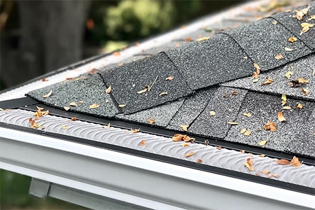 valor gutter guards on home