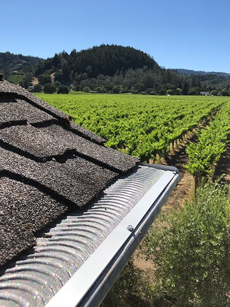 valor gutter guards winery wildfire defense