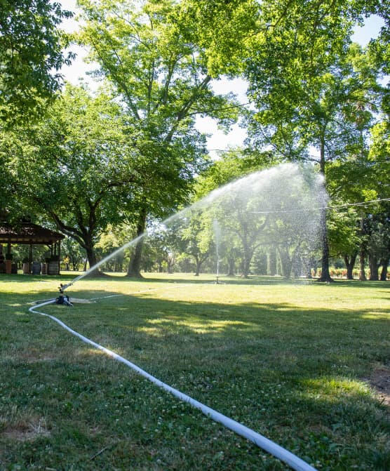 winery sprinkler systems wildfire defense