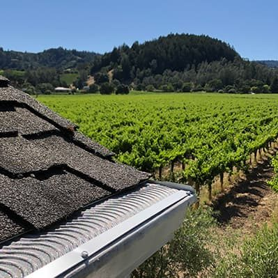 winery wildfire safe valor gutter guards